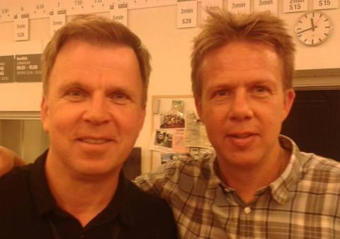 Richard Herrey och jag