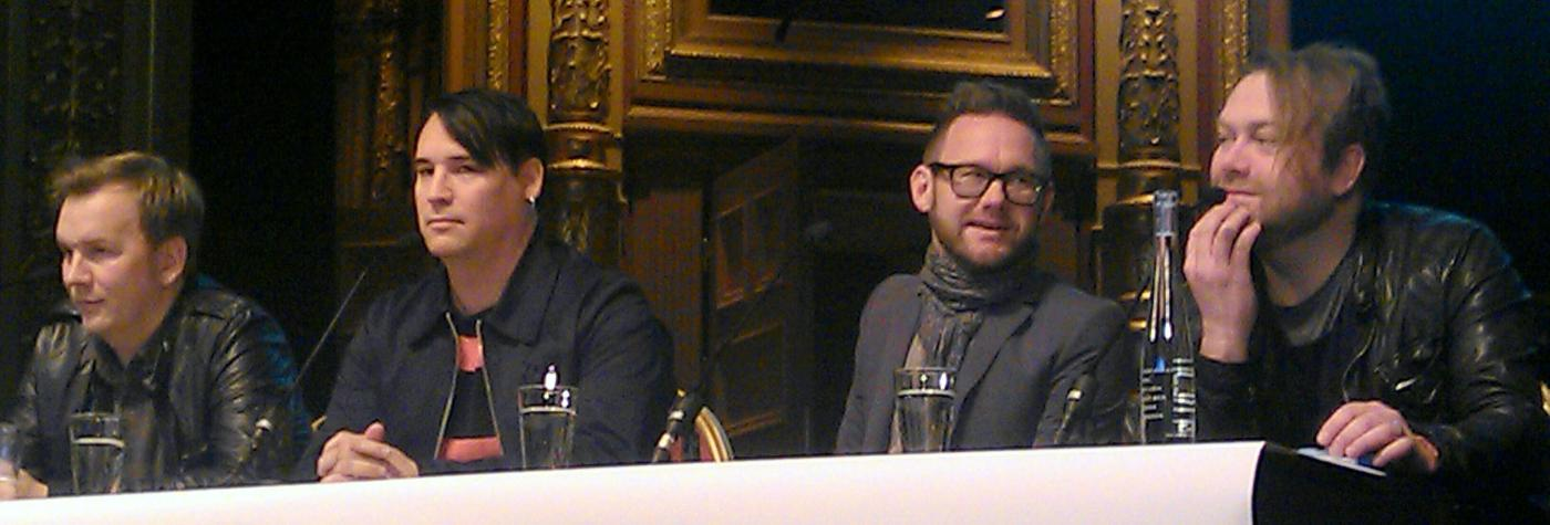 Kent, presskonferens på Berns 2012.
