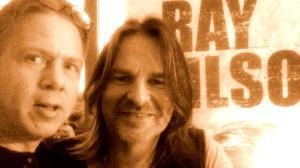 Jag tar en selfie med Ray Wilson i Tyskland 2016..